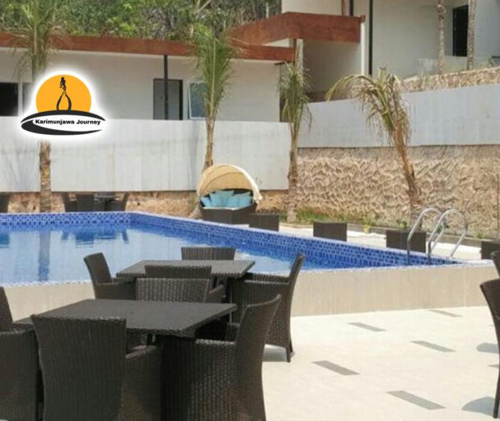 Paket Hotel D'SEASON karimunjawa kolam renang