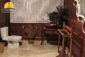 Penginapan brave azzurine resort karimunjawa toilet