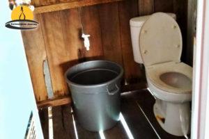 Penginapan wisma apung karimunjawa kamar mandi