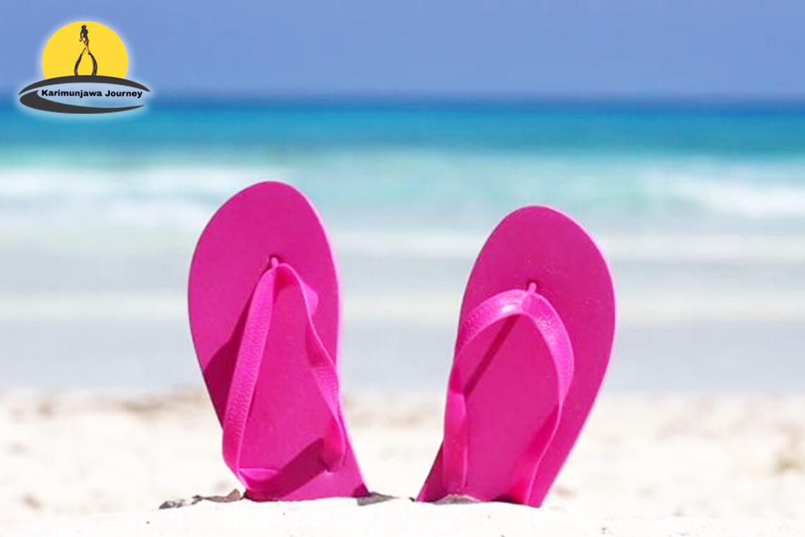 Sandal Yang Cocok Untuk Ke Pantai Karimun Jawa Sandal Minimalis