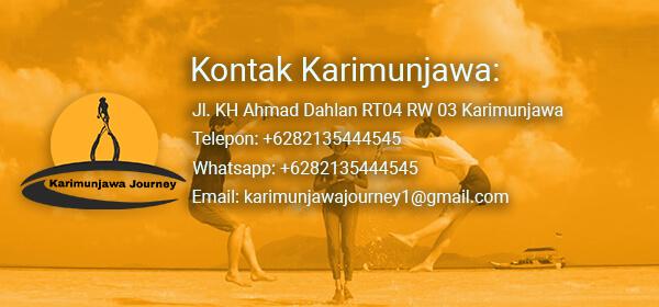kontak Cara order booking paket tour karimunjawa